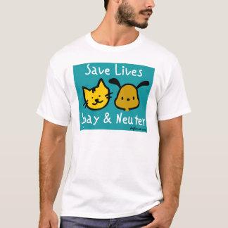 Save Lives - Spay & Neuter T-Shirt