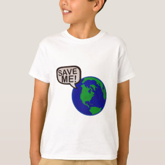 Save Me - Earth T-Shirt