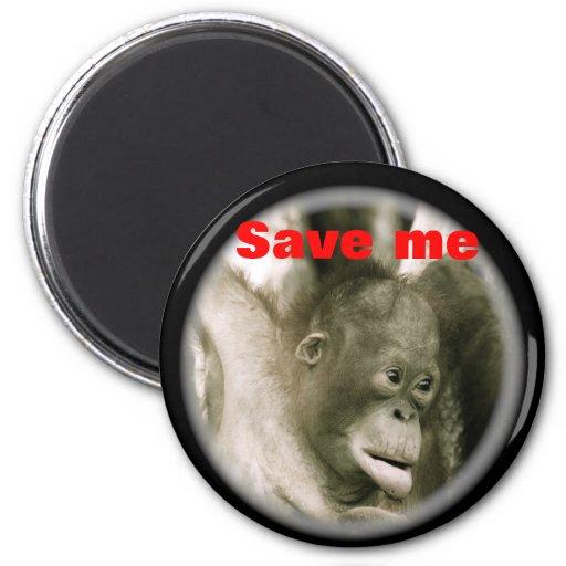 Save Me magnet