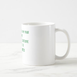 Save money on your Halloween costume. Coffee Mug
