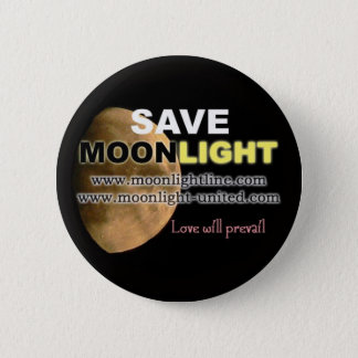 Save Moonlight 6 Cm Round Badge