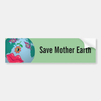 Save Mother Earth  Sticker Bumper Sticker