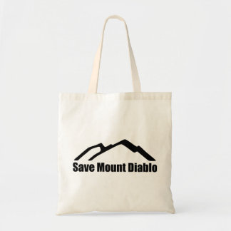 Save Mount Diablo Logo Tote