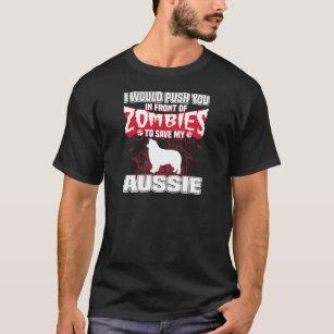Save My Aussie Halloween Funny Gift Shirt