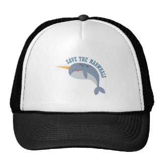 Save Narwhals Cap