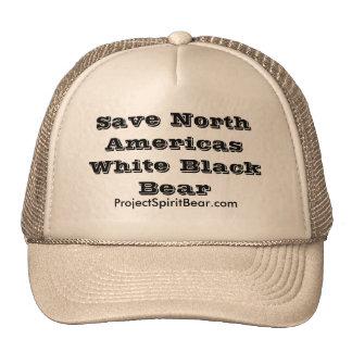 Save North Americas White Black Bear Cap