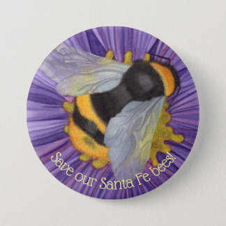 Save Our Bees Personalised Button