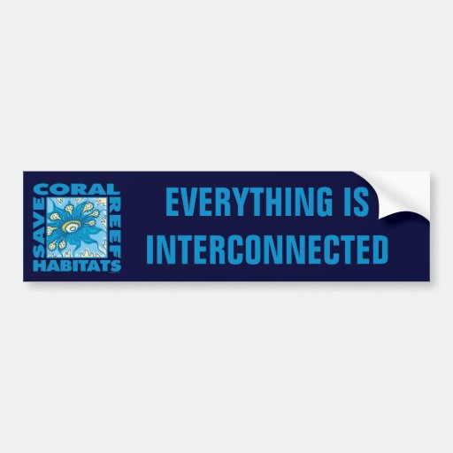 Save Our Coral Reefs Bumper Stickers