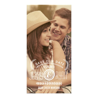 SAVE OUR DATE | SAVE THE DATE ANNOUNCEMENT CUSTOMIZED PHOTO CARD