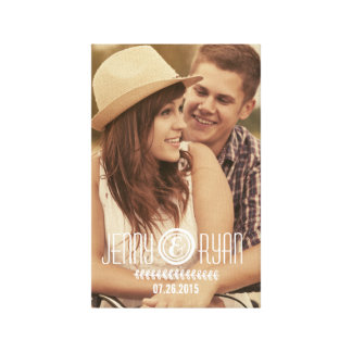SAVE OUR DATE   SAVE THE DATE CANVAS PICTURE CANVAS PRINT
