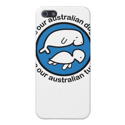 Save our dugong & turtle iPhone 5 covers