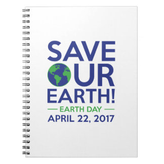 Save Our Earth Note Books