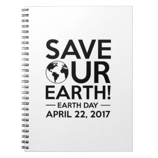 Save Our Earth Notebook