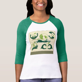 Save our earth symbols, eco friendly, love greens tees
