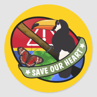 Save Our Heart Sticker