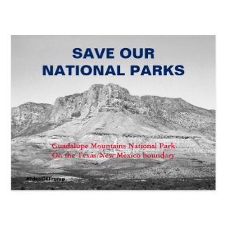 Save Our National Parks Resistance 1 Postcard