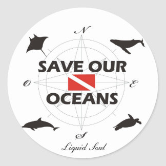 Save Our Oceans - Sticker