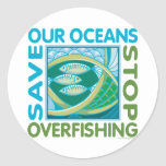 Save Our Oceans - Stop Overfishing Sticker