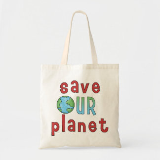 Save Our Planet *Accent Bag* Budget Tote Bag