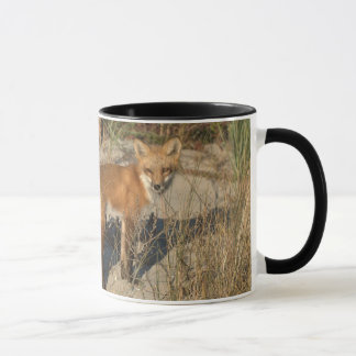"""Save Our Planet"" fox mug"