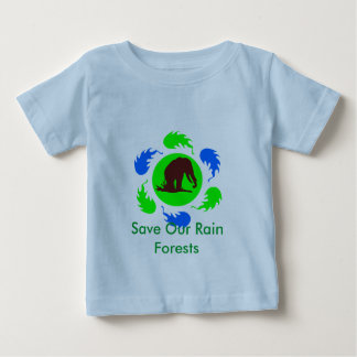 Save Our Rain Forests Elephants T Shirt