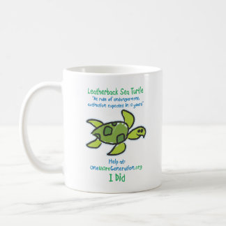 Save our Sea Turtles Coffee Mug