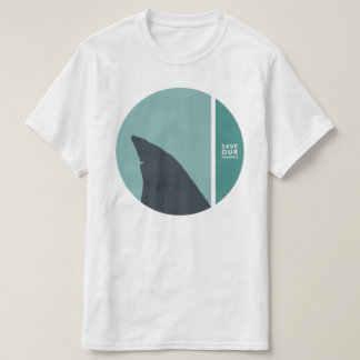 save our sharks circles T-Shirt