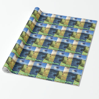 Save Planet Earth Wrapping Paper