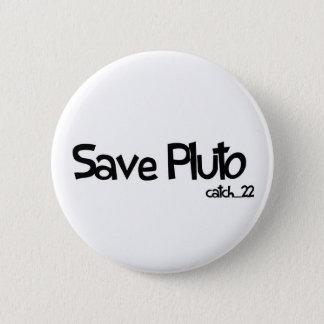 Save Pluto Badge