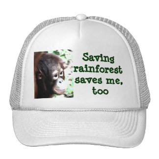 Save Rainforest, Save Wildlife Cap
