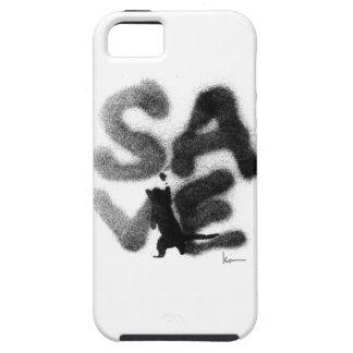 """""""SAVE"""" Rescue Pets! Tough iPhone 5 Case"""