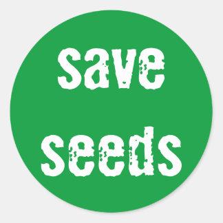 """Save Seeds"" Sticker"