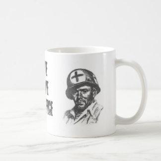 SAVE SERVE SACRIFICE COFFEE MUGS