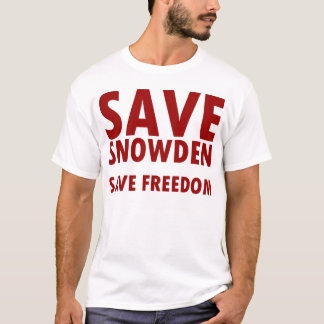 SAVE SNOWDEN T-Shirt