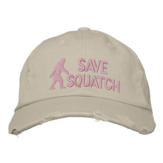 Save squatch * large logo* embroidered hat