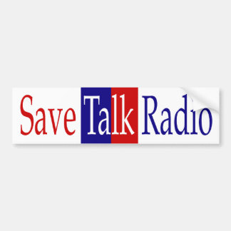 Save Talk Radio Bumper Sticker