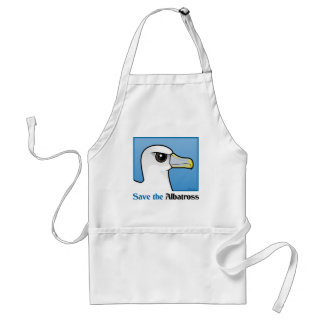Save the Albatross (portrait) Standard Apron