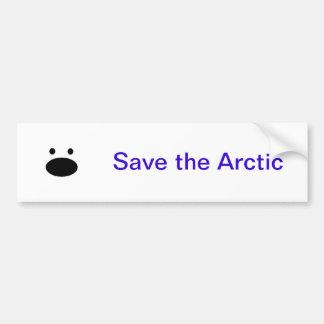 Save the Arctic Bumper Sticker