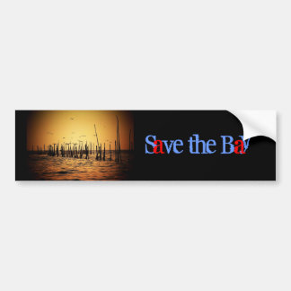 Save the Bay Bumper Sticker
