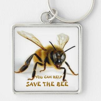 SAVE THE BEE--Keychain