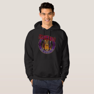 Save the Bee! Save the World! Rock & Roll Bee Hoodie