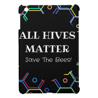 Save The Bees - All Hives Matter iPad Mini Cases