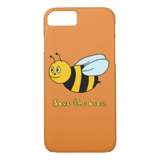 'Save the Bees' iPhone 8/7 Case