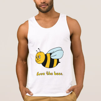 'Save the Bees' (Men's) Singlet