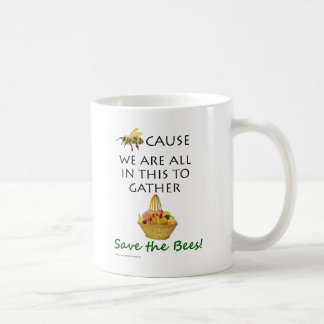 Save The Bees Together Mug