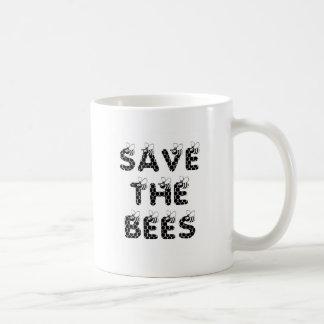 Save the Bees White Coffee Mug