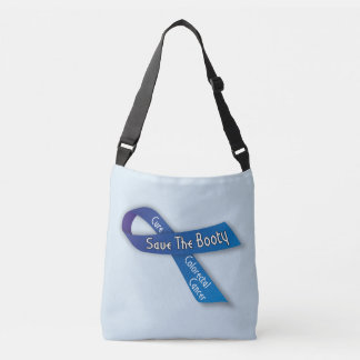 Save The Booty Colorectal Cancer Awareness Bag