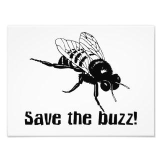 Save the Buzz Photo Art