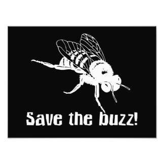 Save the Buzz Art Photo