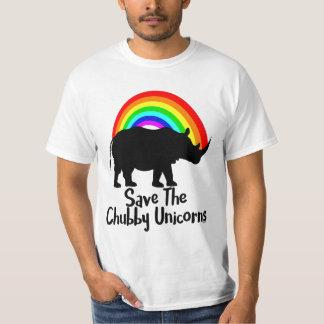 Save The Chubby Unicorn T-Shirt